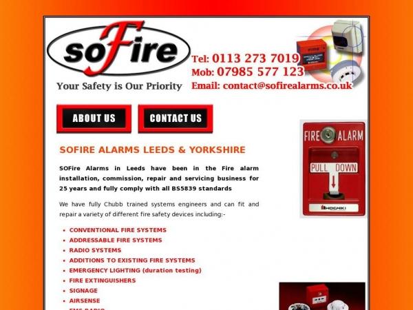 sofirealarms.co.uk